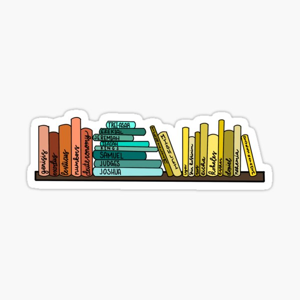 books of the Tanakh Sticker