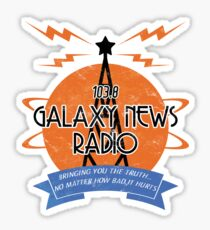 Galaxy News Radio Sticker