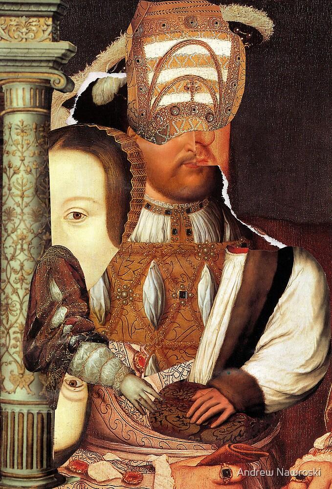 Henry the Eight with Anne Boleyn. by Andy Nawroski