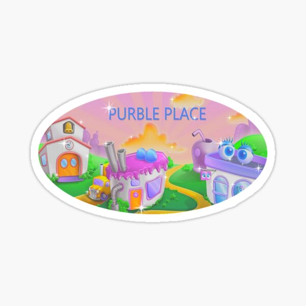 Purble Place Sticker