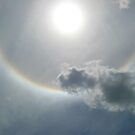 Rainbow Ring Around the Sun, Encouragement from Heaven by Jane Neill-Hancock