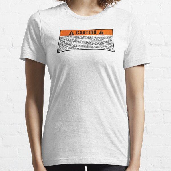 Caution: Excessive exposure warning Essential T-Shirt
