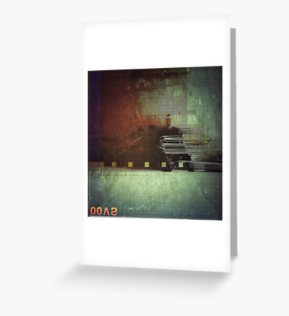 Odessa Polaroïd  Greeting Card