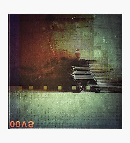 Odessa Polaroïd  Photographic Print