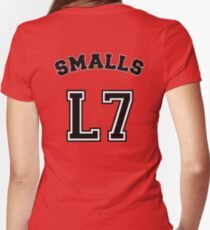 Smalls Jersey Women's Fitted V-Neck T-Shirt