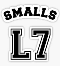 Smalls Jersey Sticker