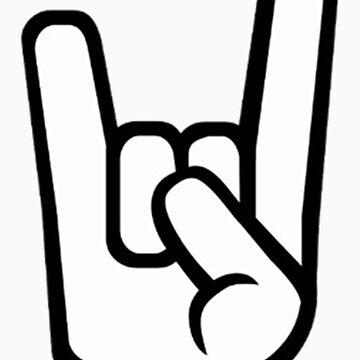 Rock Hand Symbol by saimatab