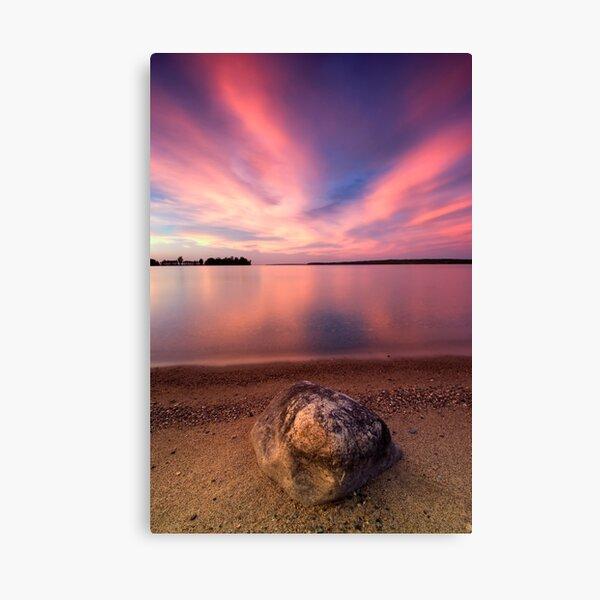The Pink End, Leech Lake Canvas Print