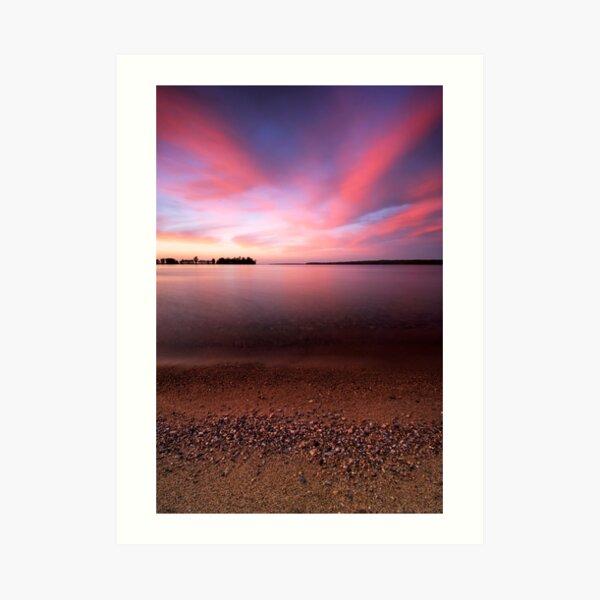 Serenity, Leech Lake Art Print
