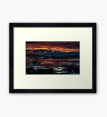 Sunrise to behold Framed Print