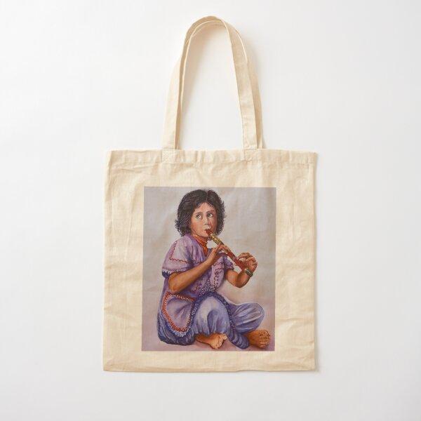 Practice. Watercolor Art. Cotton Tote Bag