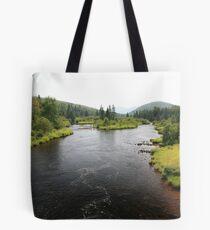 Canadian landscape Tote Bag