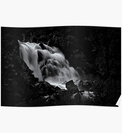Upper Fallen Leaf Falls Poster