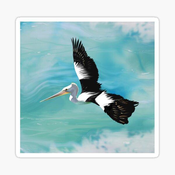 Pelican Crossing Sticker