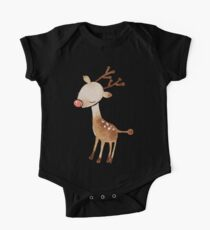 Rudolf the reindeer One Piece - Short Sleeve