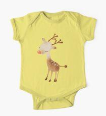 Rudolf the reindeer One Piece - Short Sleeve