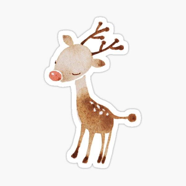 Rudolf the reindeer Sticker