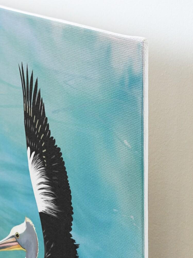 Alternate view of Pelican Crossing Mounted Print