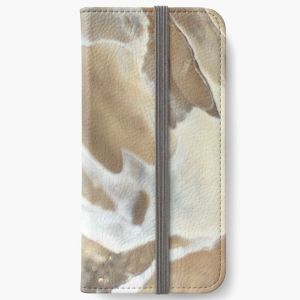 marble shell iPhone Wallet