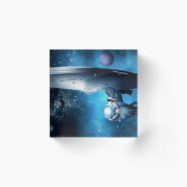 Enterprise A - Where Silence Has Lease Acrylic Block