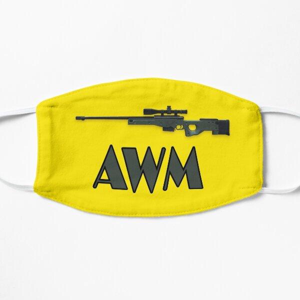 Awm gun free fire Masque sans plis