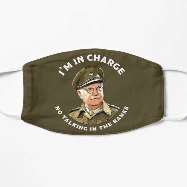 Dad's Army -  Captain Mainwaring - British Nostalgia - Dad's Army tshirts  - Comedy Classic Gifts Mask