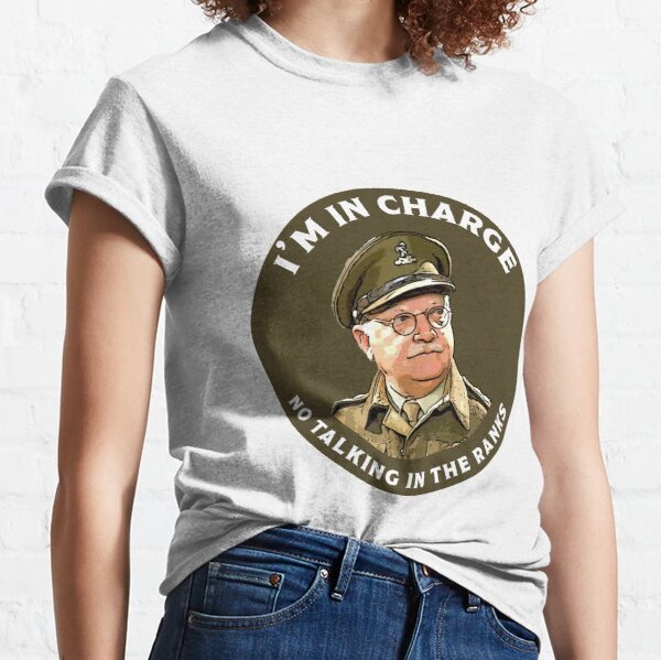 Dad's Army -  Captain Mainwaring - British Nostalgia - Dad's Army tshirts  - Comedy Classic Gifts Classic T-Shirt