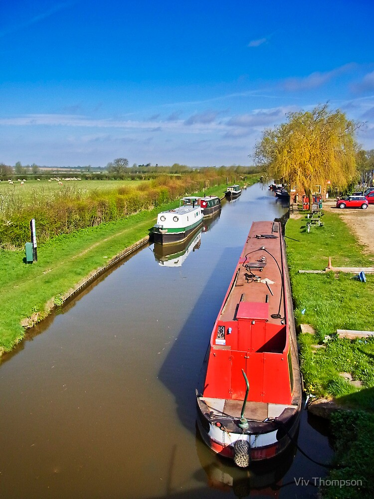 The Oxford Canal in Spring by vivsworld
