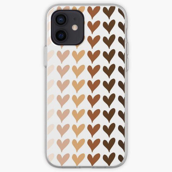 Non au racisme Coque souple iPhone