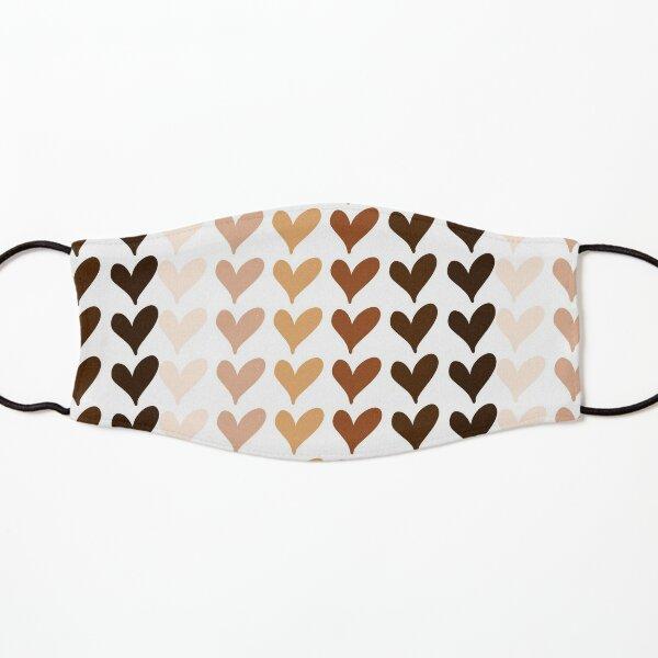 Black Lives Matter Hearts Emoji Kids Mask