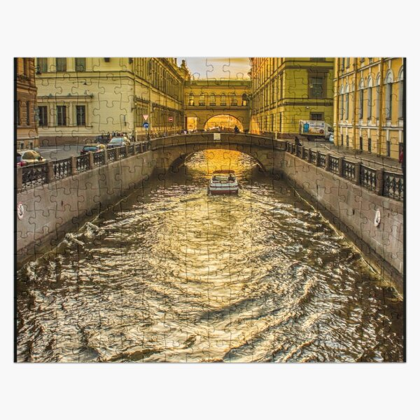 Swan Canal in St. Petersburg Jigsaw Puzzle