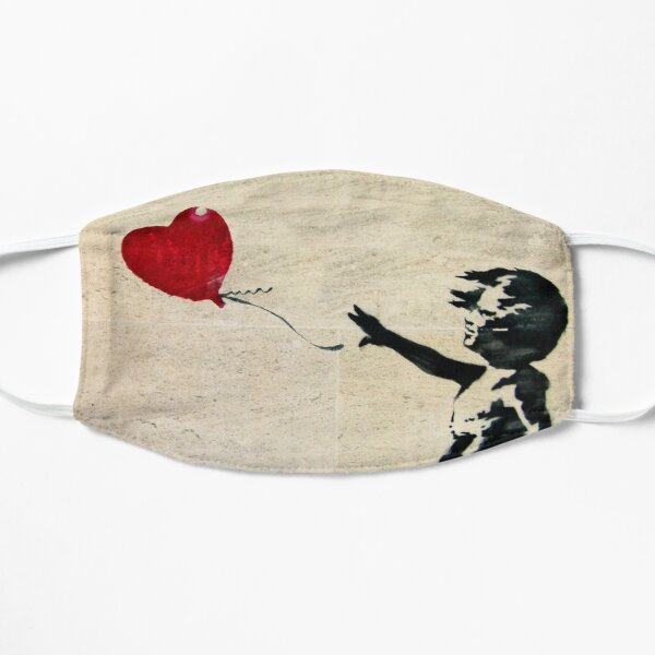 Banksy's Girl with a Red Balloon III Mask