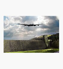 The Dam Busters over The Derwent Photographic Print