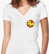 Danger Mouse  Women's Fitted V-Neck T-Shirt