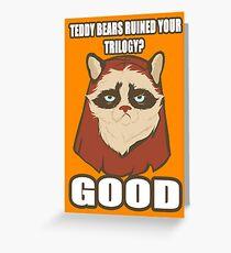 Grump-E-Wok Greeting Card