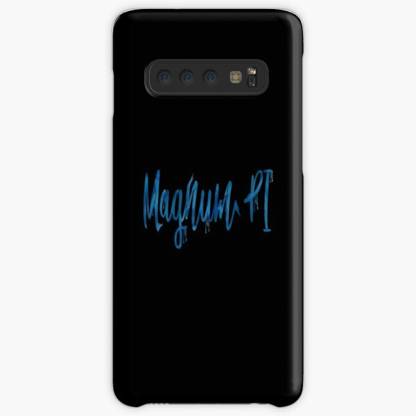 "Rebooted Magnum PI ""Magnum PI"" Paint Text Style  Samsung Galaxy Snap Case"