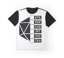 Roll Your Character! (Fillable Boxes) Graphic T-Shirt
