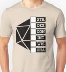 Roll Your Character! (Fillable Boxes) T-Shirt