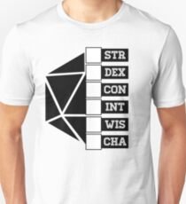 Roll Your Character! (Fillable Boxes) Unisex T-Shirt