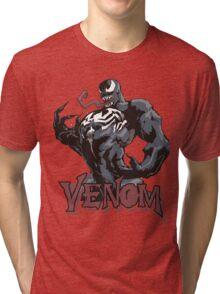 Venom comic T-Shirt Tri-blend T-Shirt