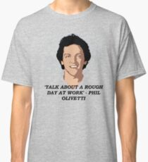 Talk about a rough day at work Classic T-Shirt
