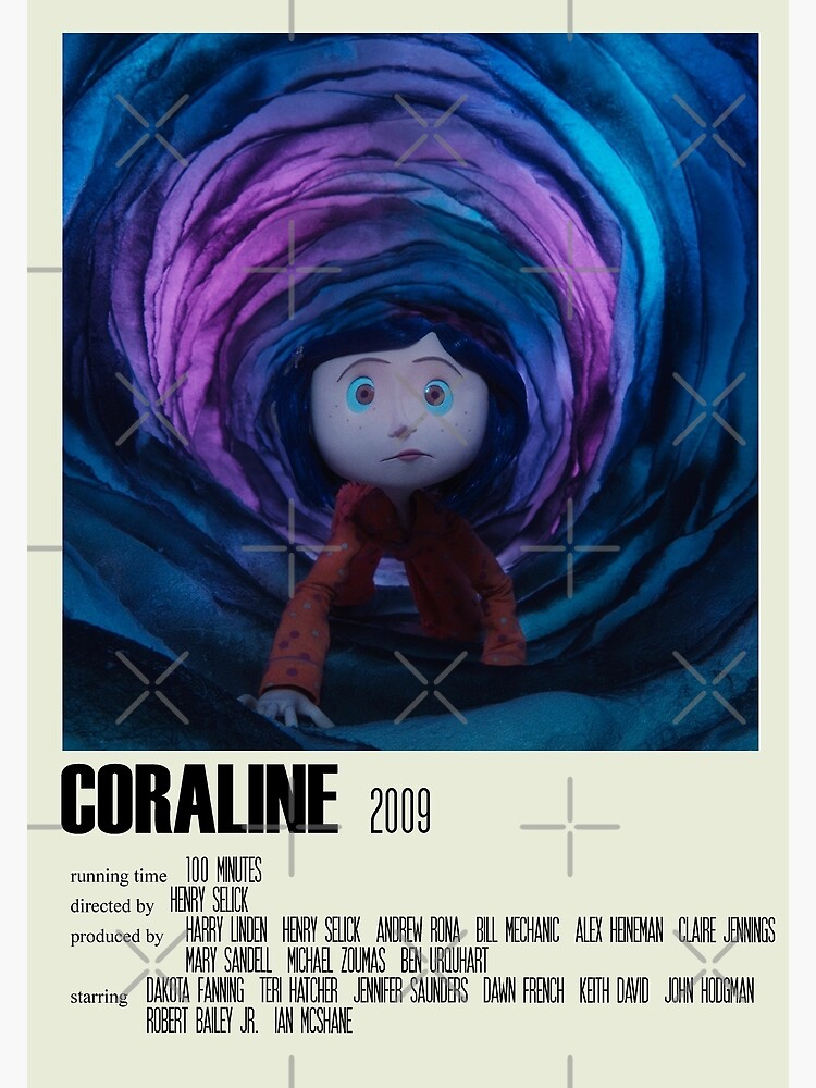 Coraline Alternative Poster Art Movie Large (1) by DesignsByElle
