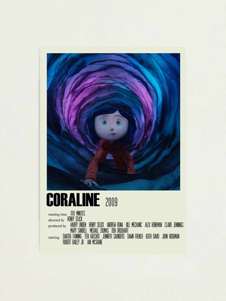 Alternate view of Coraline Alternative Poster Art Movie Large (1) Photographic Print