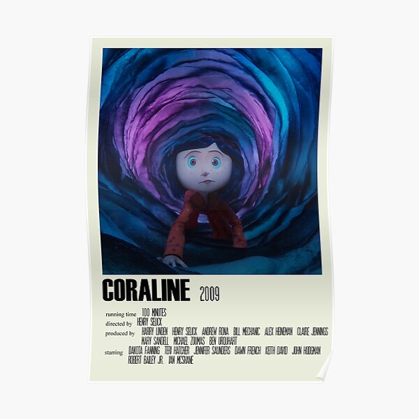 Coraline Alternative Poster Art Movie Large (1) Poster