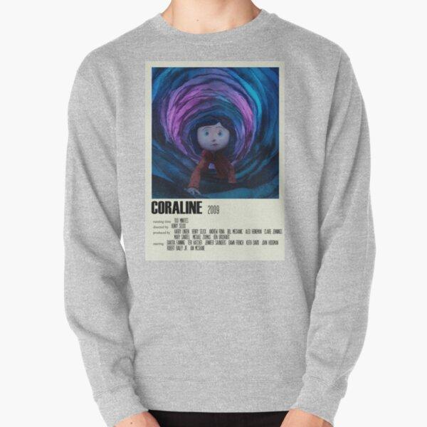 Coraline Alternative Poster Art Movie Large (1) Pullover Sweatshirt