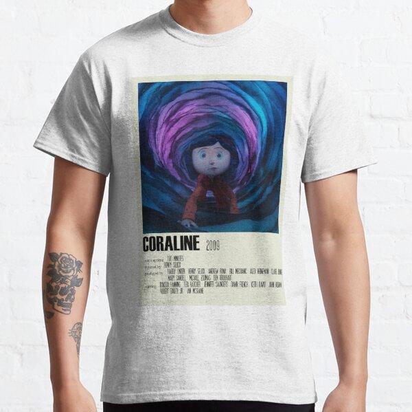 Coraline Alternative Poster Art Movie Large (1) Classic T-Shirt
