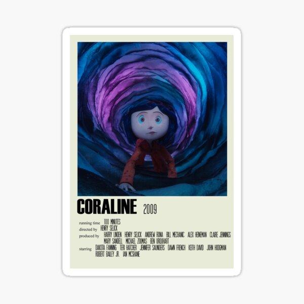 Coraline Alternative Poster Art Movie Large (1) Sticker