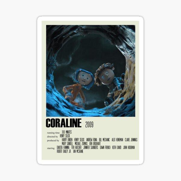 Coraline Alternative Poster Art Movie Large (2) Sticker