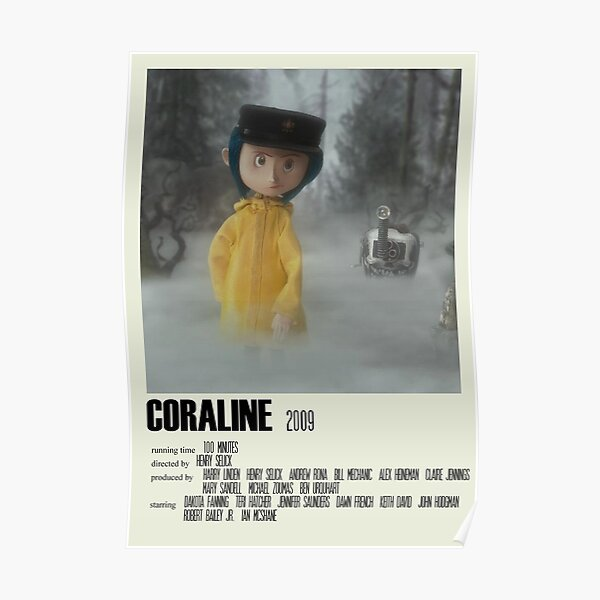 Coraline Jones Posters Redbubble The stone is an item, a stone with a hole in it, given to coraline jones by miriam forcible and april spink. coraline jones posters redbubble