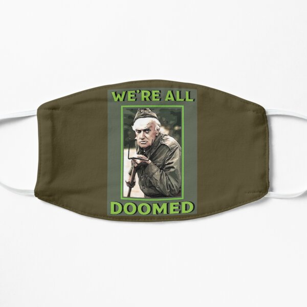 Dad's Army -  Private Frazer  - British Nostalgia - Dad's Army tshirts  - Comedy Classic Gifts Mask